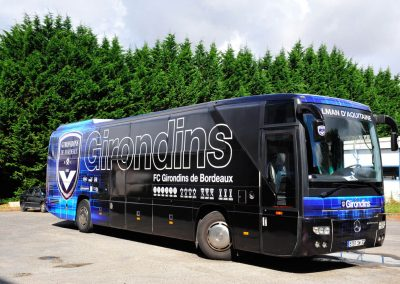 Covering bus girondins par imindigo