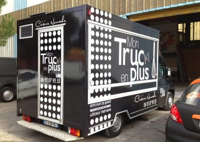 Covering Food Truck Mon Truc en plus imindigo