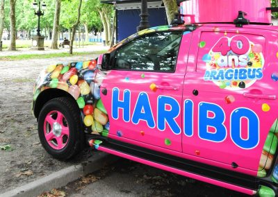 Covering voiture HARIBO Imindigo